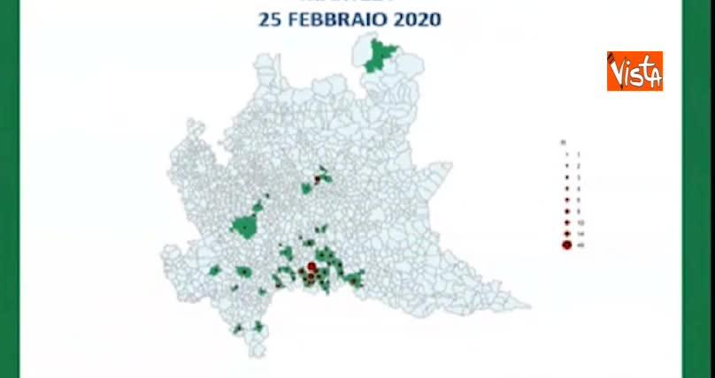 Regione Lombardia Cartina Politica.Coronavirus La Mappa Dei Contagi In Lombardia Ecco Quanti E Dove Sono Libero Quotidiano